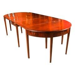 Antique Regency Metamorphic Mahogany Dining Table, 19th C