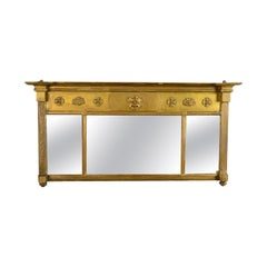 Antique Regency Overmantel Mirror, English, Early 19th Century, circa 1820