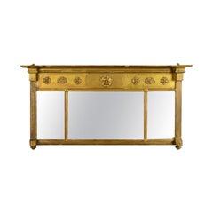 Antique Regency Overmantel Mirror, English, Early 19th Century, circa 1820