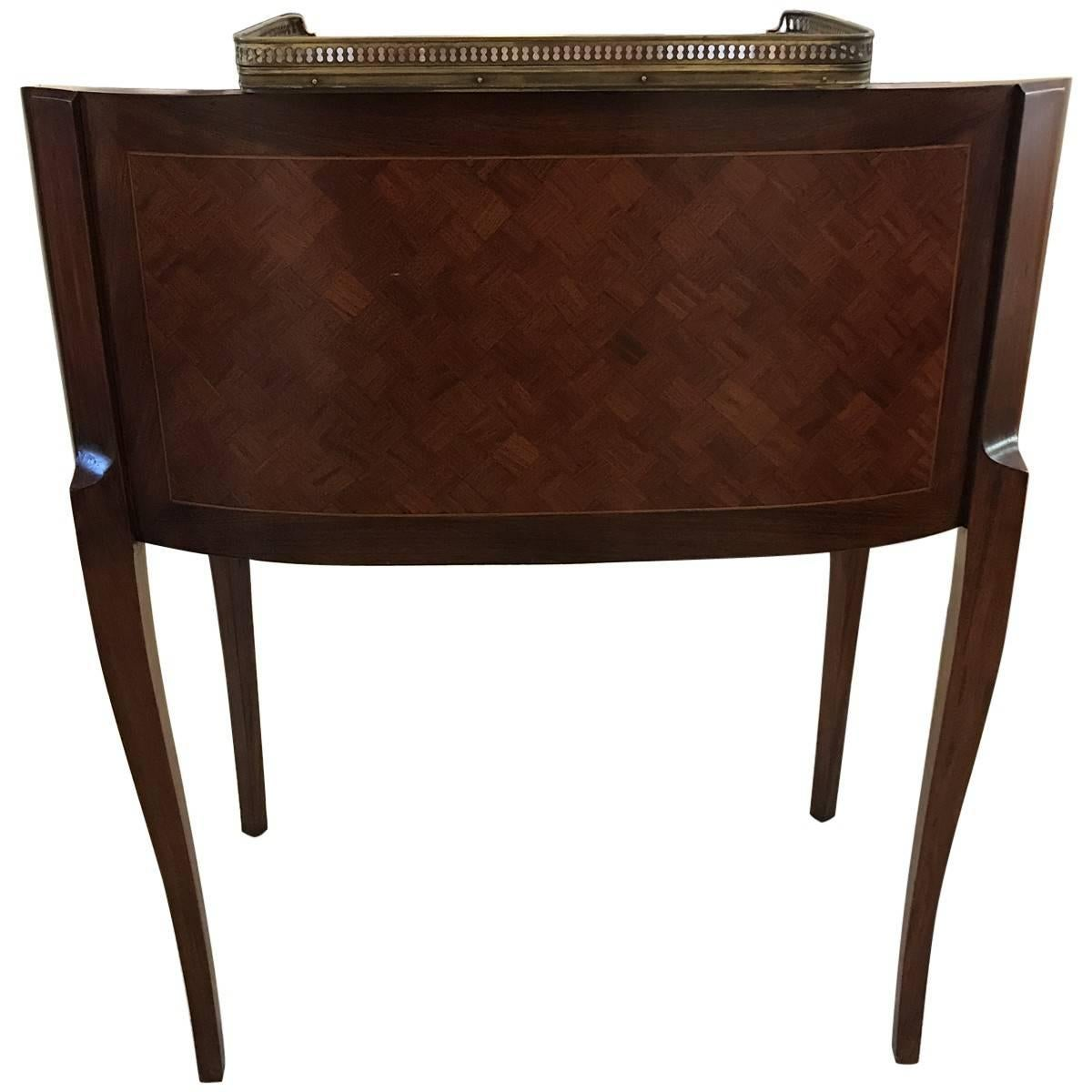 Antique Regency Style Gany And Leather Writing Desk For At 1stdibs