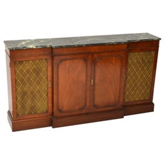 Antique Regency Style Mahogany Sideboard