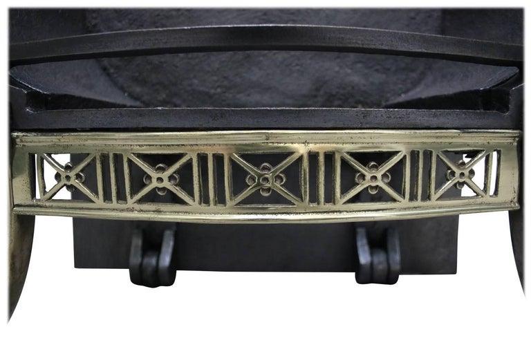 Antique Regency Style Victorian Dog Grate For Sale 1