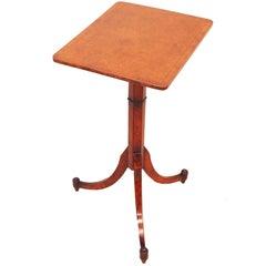 Antique Regency Thuya Wood Wine Table