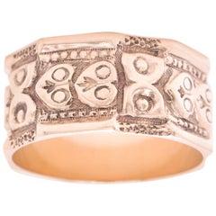 Antique Renaissance Revival Gold Band Ring