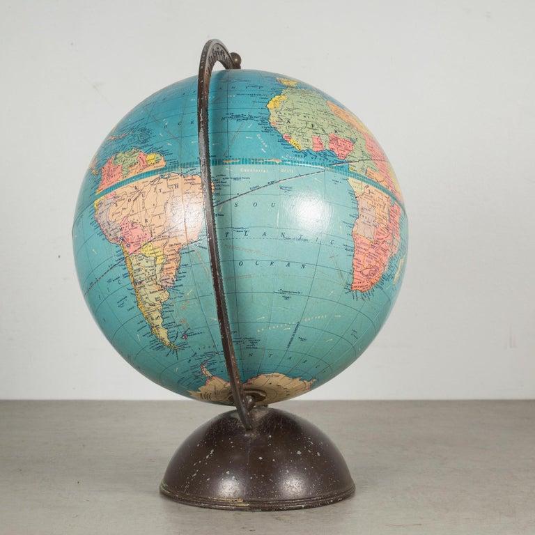 Antique Replogle Standard Globe, circa Pre 1948 In Good Condition For Sale In San Francisco, CA