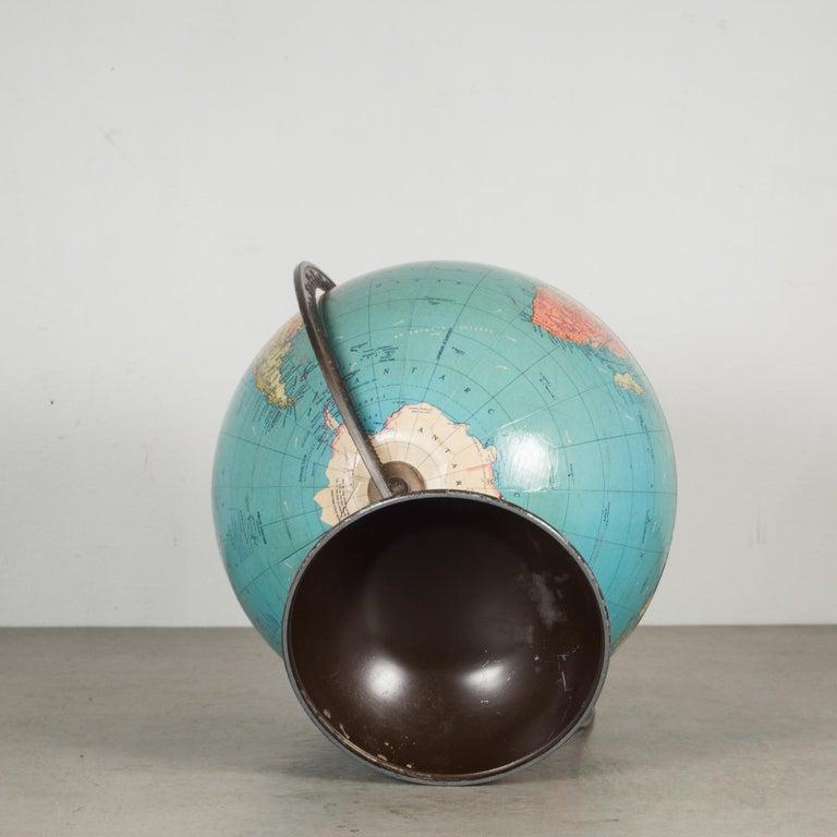 20th Century Antique Replogle Standard Globe, circa Pre 1948 For Sale