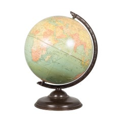 Antique Replogle Standard Globe, circa 1930