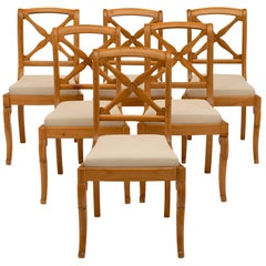 Antique Restauration Dining Chairs