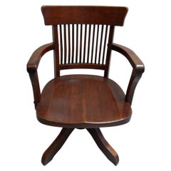 Antique Revolving Office Chair