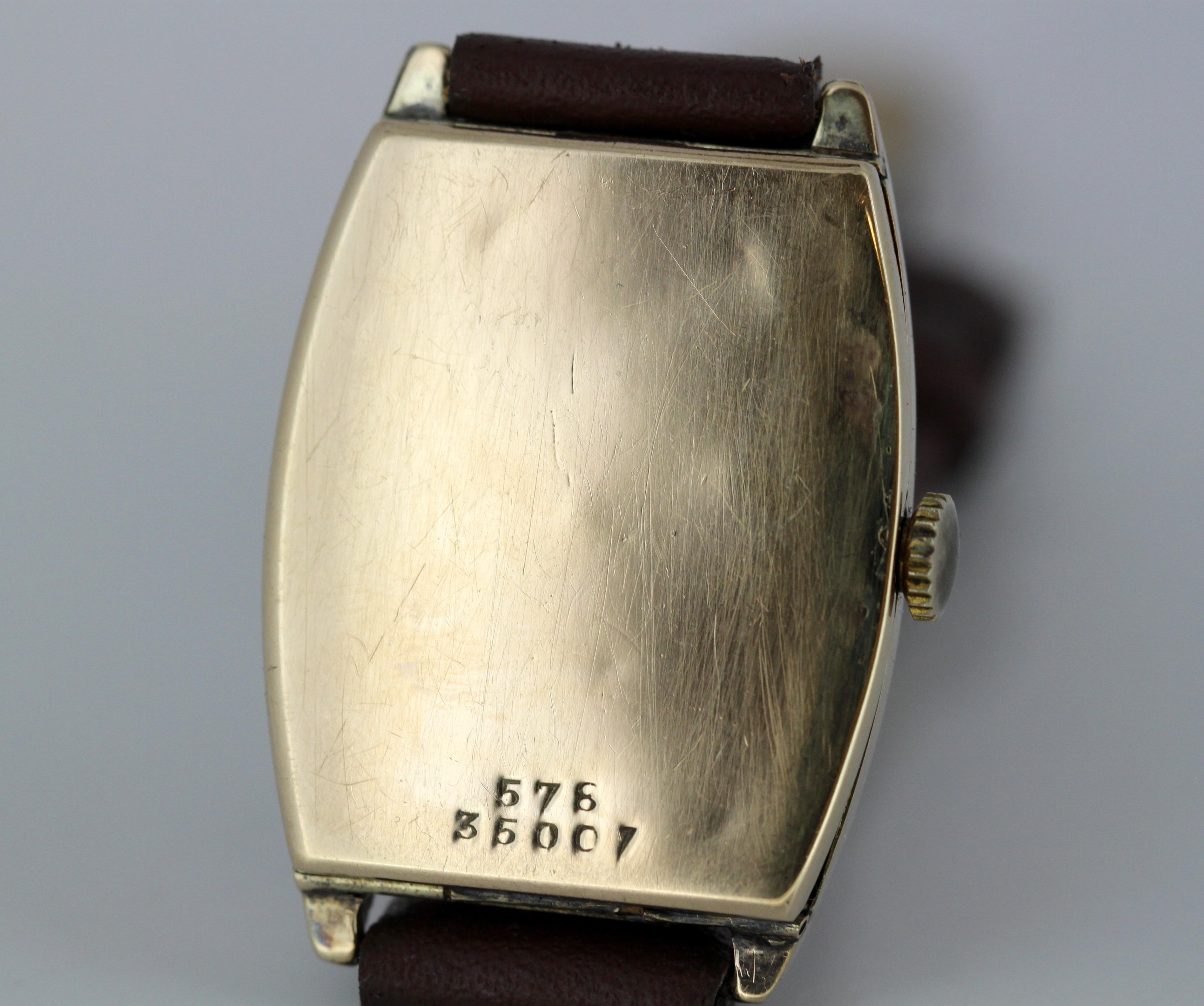 Antique Rolex, Manual Winding Wristwatch, circa 1920s