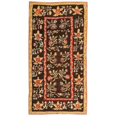 Antique Romanian Bessarabian Rug. Size: 5 ft 3 in x 9 ft 7 in (1.6 m x 2.92 m)