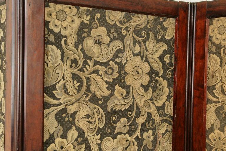 Late 19th Century Antique Room Divider, Privacy Screen, Folding Screen, Scotland, 1880, B1412