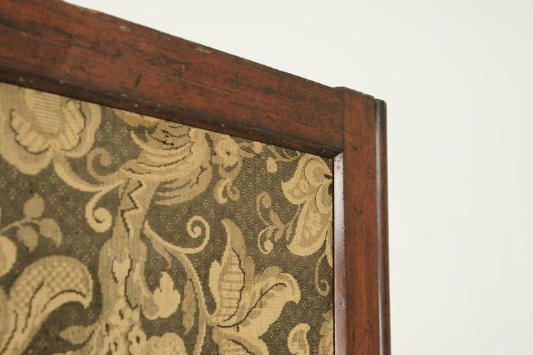 Walnut Antique Room Divider, Privacy Screen, Folding Screen, Scotland, 1880, B1412