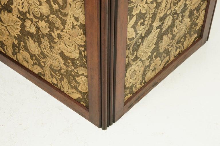 Antique Room Divider, Privacy Screen, Folding Screen, Scotland, 1880, B1412 1