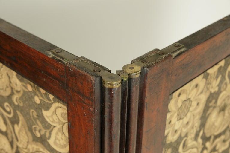 Antique Room Divider, Privacy Screen, Folding Screen, Scotland, 1880, B1412 2