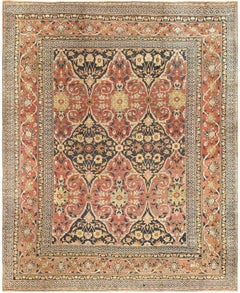 Antique Room Sized Persian Khorassan Carpet