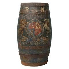 Antique Royal Navy Coopered Rum Barrel Umbrella Stand