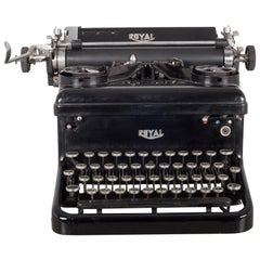 Antique Royal Touch Control Typewriter, circa 1930s