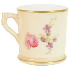 Antique Royal Worcester, Miniature Hand Painted Cup, B1964