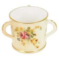 Antique Royal Worcester, Miniature Loving Cup, W3171, B1962