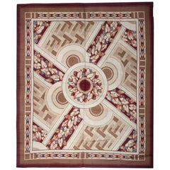 Antique Rug Floor Area Art Deco Rugs, Handmade Carpet Oriental Rugs for Sale