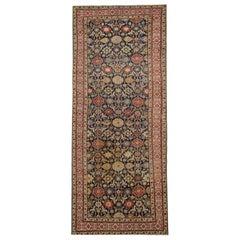 Antique Rug Floral Handmade Rug Oriental Caucasian Carpet Kuba Living Room Rug