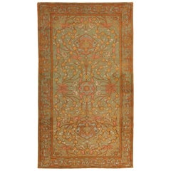"Antique Rug from the Israel Jerusalem by Bezalel Art Schoo. Size: 4' 9"" x 7' 9"""