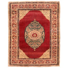 Antique Rug, Persian, Doroksh, circa 1890