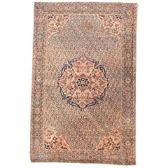 Antique Rug, Persian Farahan Sarouk, circa 1890