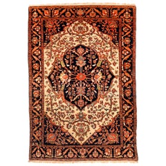 Antique Rug, Persian Farahan Sorouk