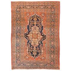 Antique Rug, Persian Tabriz Haji Jailli, circa 1890