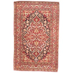 Antique Rug, Persian Tehran, circa 1900