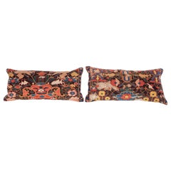 Antique Rug Pillow Cases Fashioned from a 19th Century, Caucasian Kuba Rug