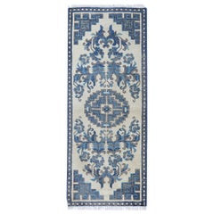 Antique Rug Runner Chinese Rugs Blue Handmade Carpet Runners