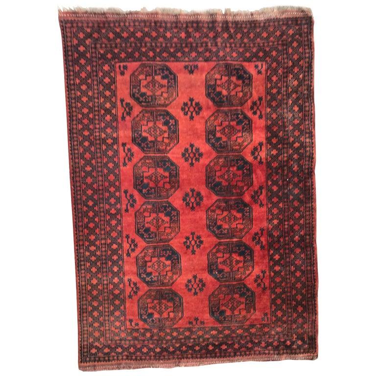 Antique Afghan Rugs: Antique Rugs, Afghan Ersari Rug, Antique Turkman Carpet