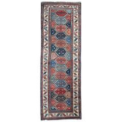 Antique Rugs Caucasian Carpet Runner Kurdish Runner