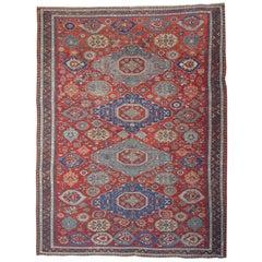 Antique Rugs Caucasian Kuba, Sumakh Kilim Rugs, Floor Rugs, Handmade Carpet