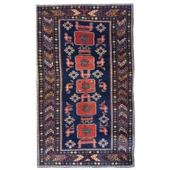 Antique Rugs Caucasian Traditional Rug, Handmade Carpet Oriental Rug, Area Rugs