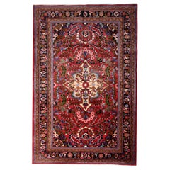 Antique Rugs Handmade Carpet Oriental Wool Carpet Area Rug