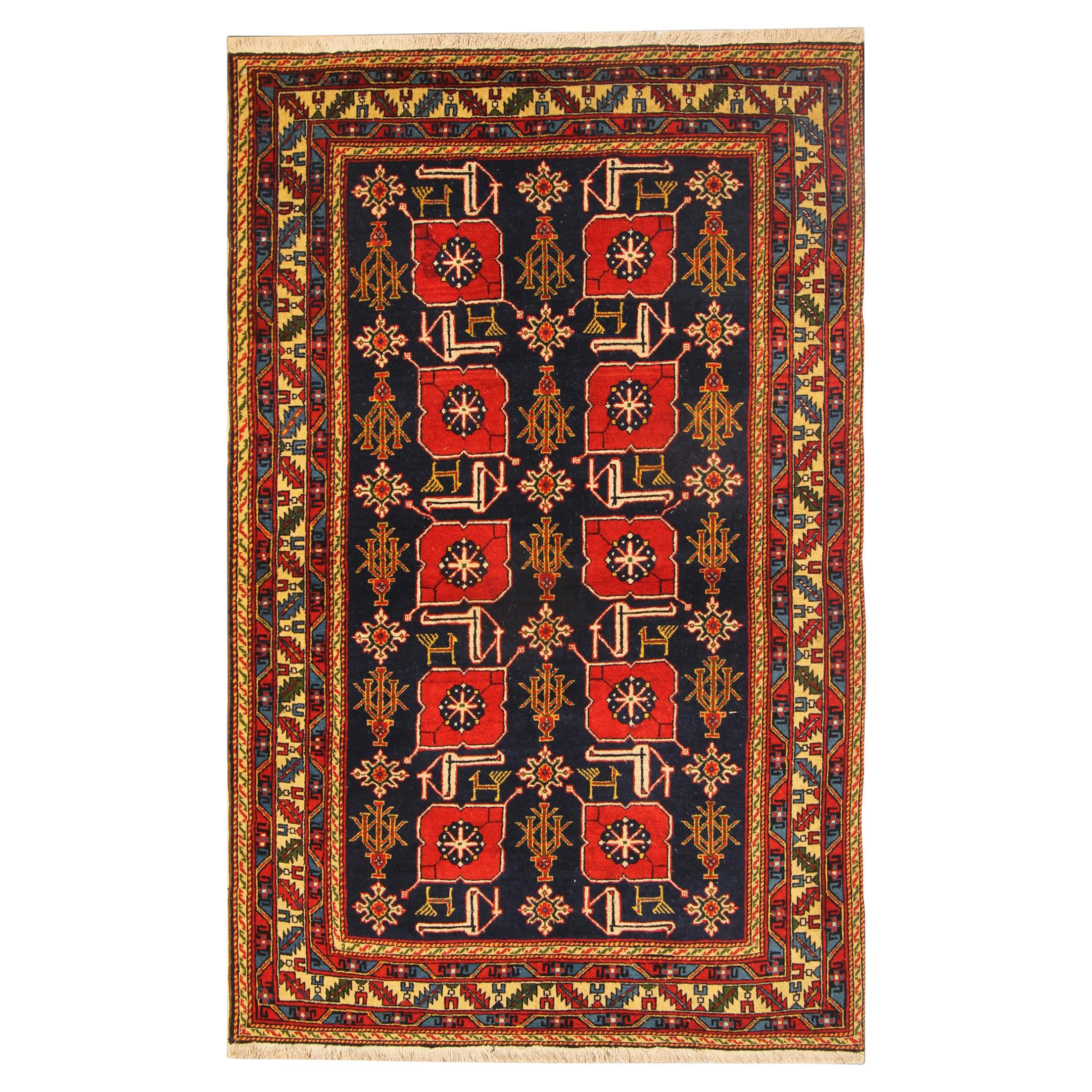 Antique Rugs, Karabagh Antique Carpet Caucasian Oriental Rugs