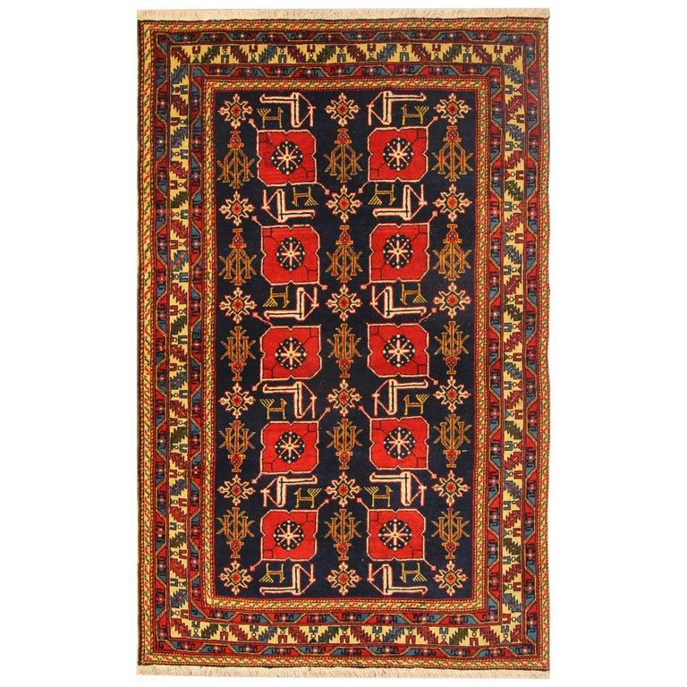 Antique Rugs, Karabagh Antique Oriental Rugs, Caucasian Carpet For Sale