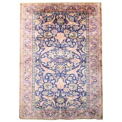 Antique Rugs Pure Silk Rugs, Turkish Rugs Oriental Handmade Carpet from Turkey