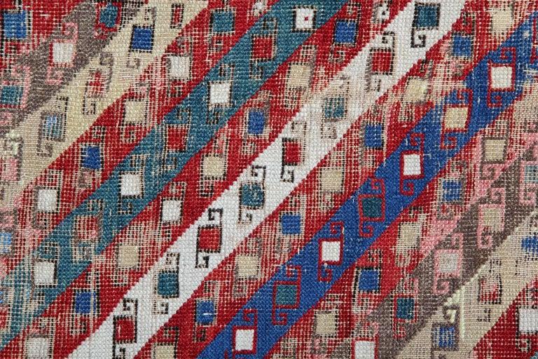 Other Antique Rugs Runner Caucasian Handmade Carpet Runners, Oriental Rugs For Sale