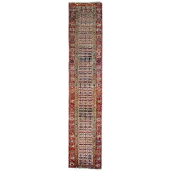 Antique Rugs, Runner Rugs Handmade Carpet Oriental Rugs, Shirvan Carpet Runners