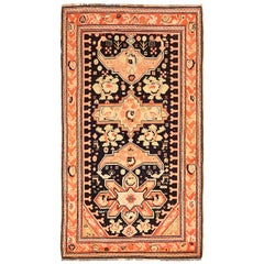 Antique Russian Area Rug Karebagh Design