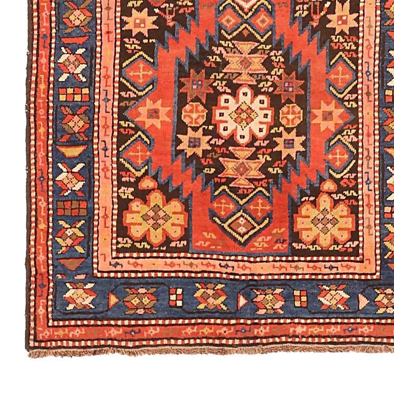 Other Antique Russian Area Rug Karebagh Design For Sale