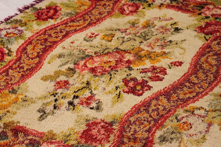 Other Antique Russian Area Rug Karebagh Design For Sale