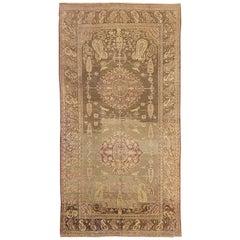 Antique Russian Area Rug Khotan Design