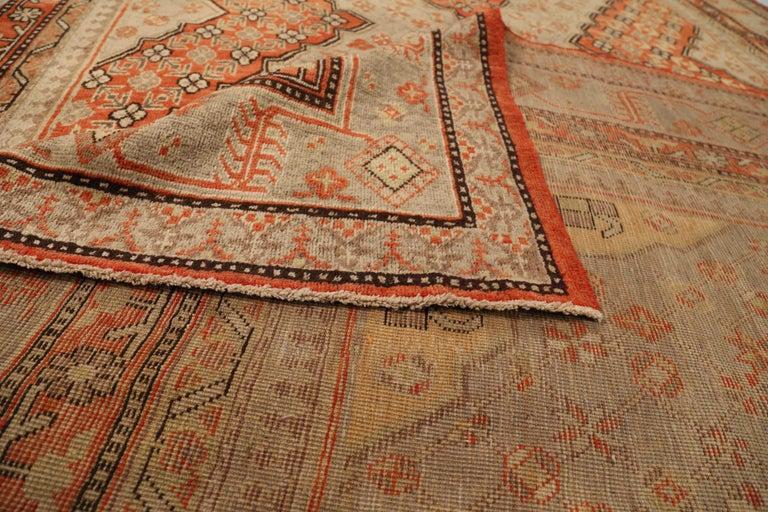 Antique Russian Area Rug Khotan Design In Excellent Condition For Sale In Dallas, TX