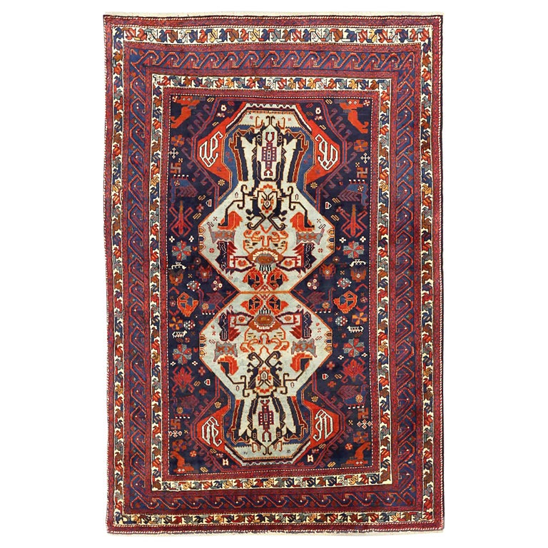 Antique Russian Area Rug Russian Design For Sale